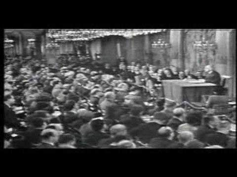 De Gaulle échange les dollars contre l'or