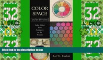 Color Space and Its Divisions  Color Order from Antiquity to the Present