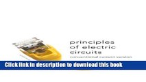 [Download] Principles of Electric Circuits: Conventional Current Version (9th Edition) Kindle