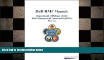 FREE DOWNLOAD  DoD RMF Manual: Department of Defense (DoD) Risk Management Framework (RMF)