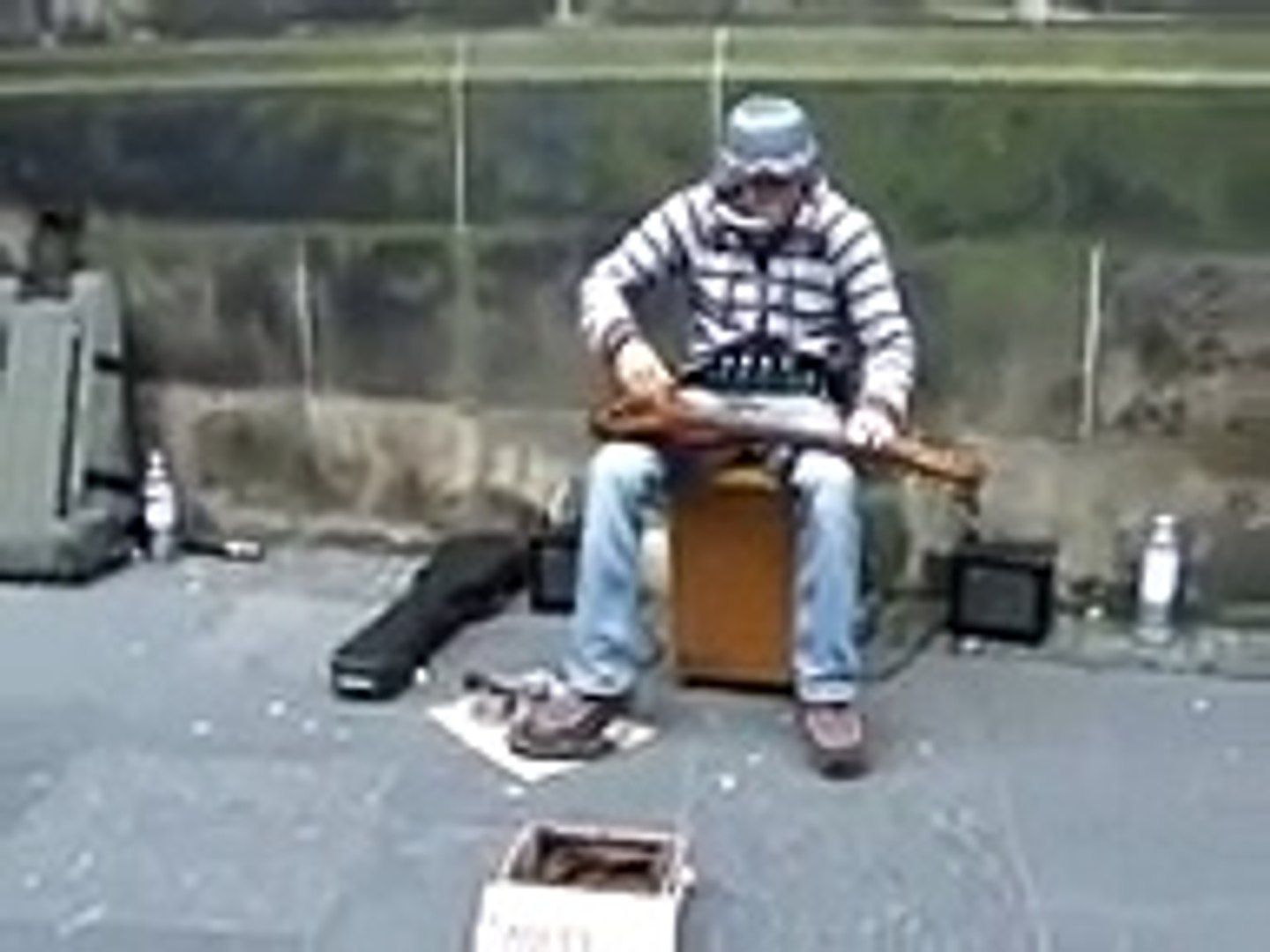 Crazy Good Multi Instrument Street Musician
