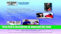 [Download] Montessori Based Activities for Persons, Vol.II Paperback Collection