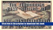 [Download] The Forbidden Bestsellers Of Prerevolutionary France Kindle Online