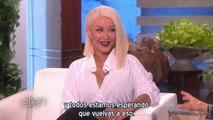 Christina Aguilera - Entrevista completa Ellen 2016 (Subtítulos español)