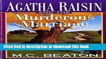 [PDF] Agatha Raisin and the Murderous Marriage (Agatha Raisin Mysteries, No. 5) Download Online