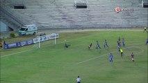 Gol do Campinense! Negretti tabela com Junior Chicão e marca um belo gol