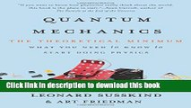 [Download] Quantum Mechanics: The Theoretical Minimum Kindle Free