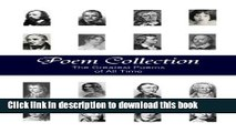 [Download] Poem Collection - 1000+ Greatest Poems of All Time (Illustrated) Hardcover Free