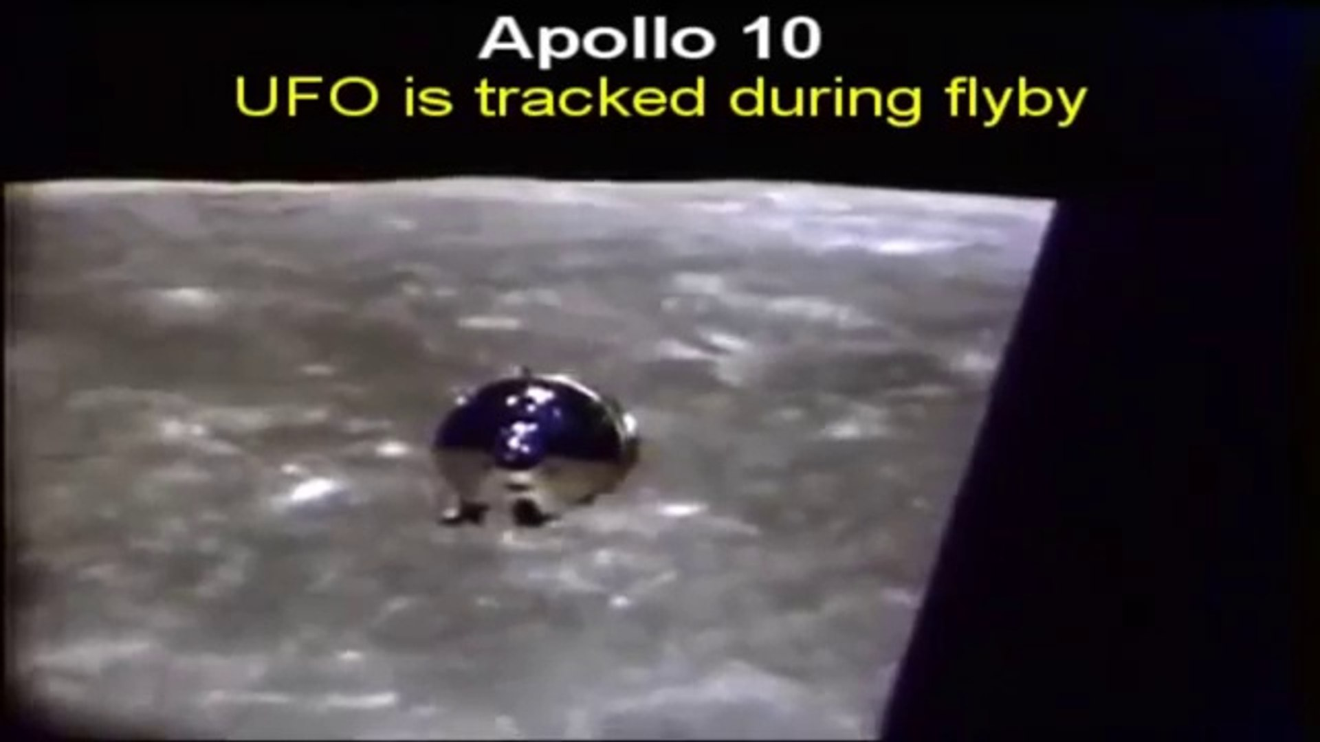 Official NASA Footage Of UFOs From Outer Space