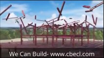 Steel Structure Building Construction by CBECL GROUP