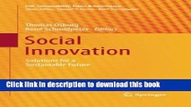[Download] Social Innovation: Solutions for a Sustainable Future (CSR, Sustainability, Ethics