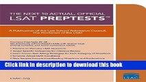 [PDF] Next 10 Actual, Official LSAT PrepTests: (PrepTests 29-38) Download Online