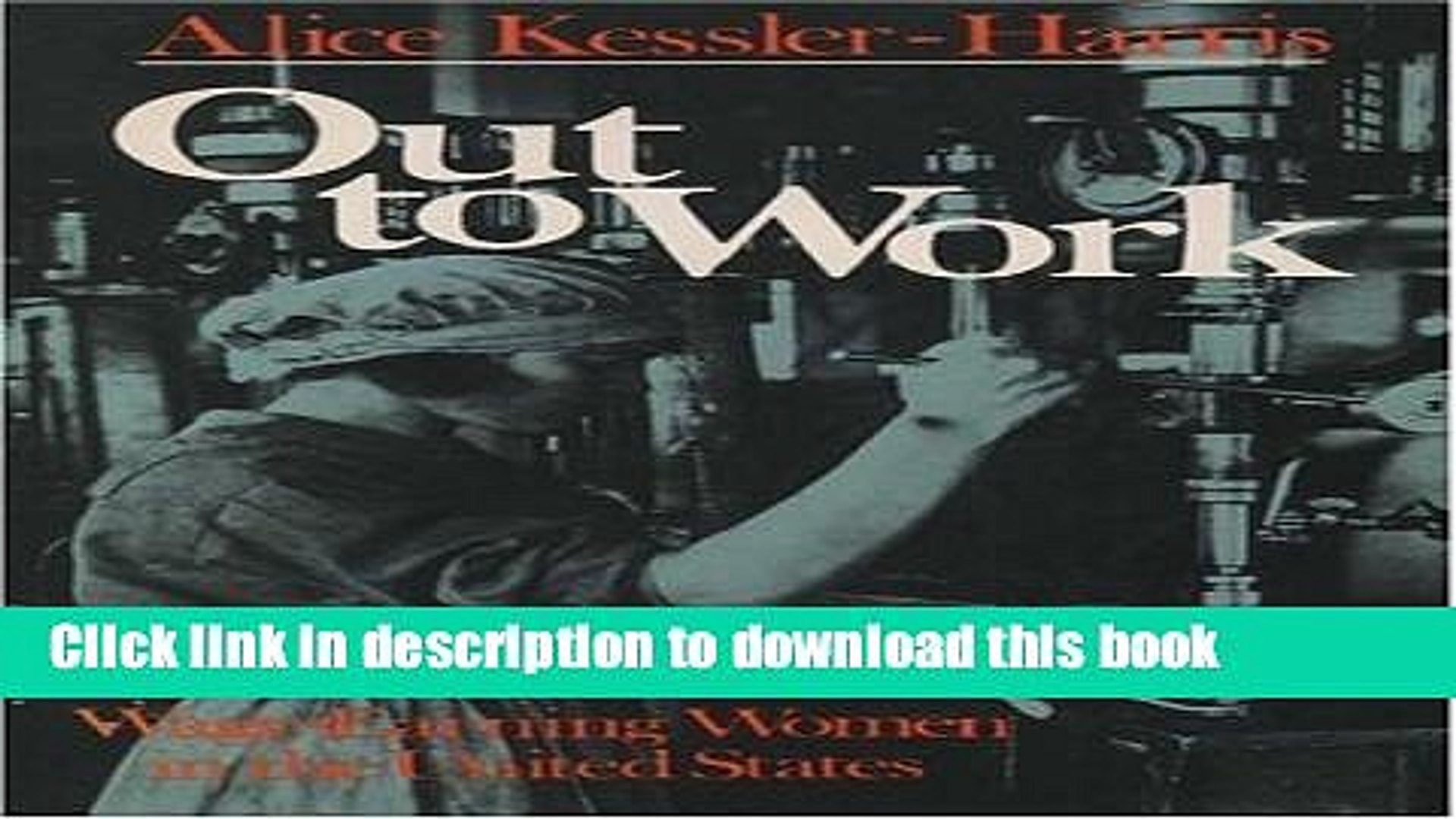 [Popular] Out to Work: The History of Wage-Earning Women in the United States Paperback Free