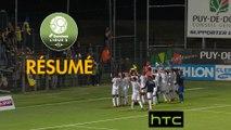 Clermont Foot - FC Sochaux-Montbéliard (1-2)  - Résumé - (CF63-FCSM) / 2016-17