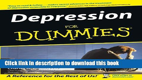 [Popular] Depression For Dummies Hardcover Free