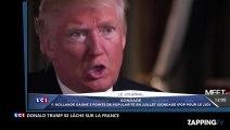 """Donald Trump : Ses déclarations chocs sur la France, """"le terrorisme, c'est de sa faute"""" (Vidéo)"""