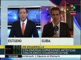 Cuba: Fidel Castro es recibido con ovaciones en el teatro Carlos Marx