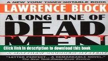 [Popular Books] A Long Line of Dead Men: A Matthew Scudder Mystery Free Online