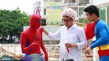 Superhero Real Life | Spiderman vs Venom Superman vs Venom Doctor Strange vs Venom ! Superheroes In Real Life For Kids