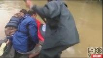 David Phung sauve une femme et son chien de la noyade (Baton Rouge)