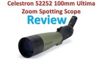 Celestron 52252 100mm Ultima Zoom Spotting Scope Review - Best Spotting Scopes.