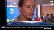JO de Rio 2016 : Laure Manaudou très inquiète pour l'avenir de la natation française (Vidéo)