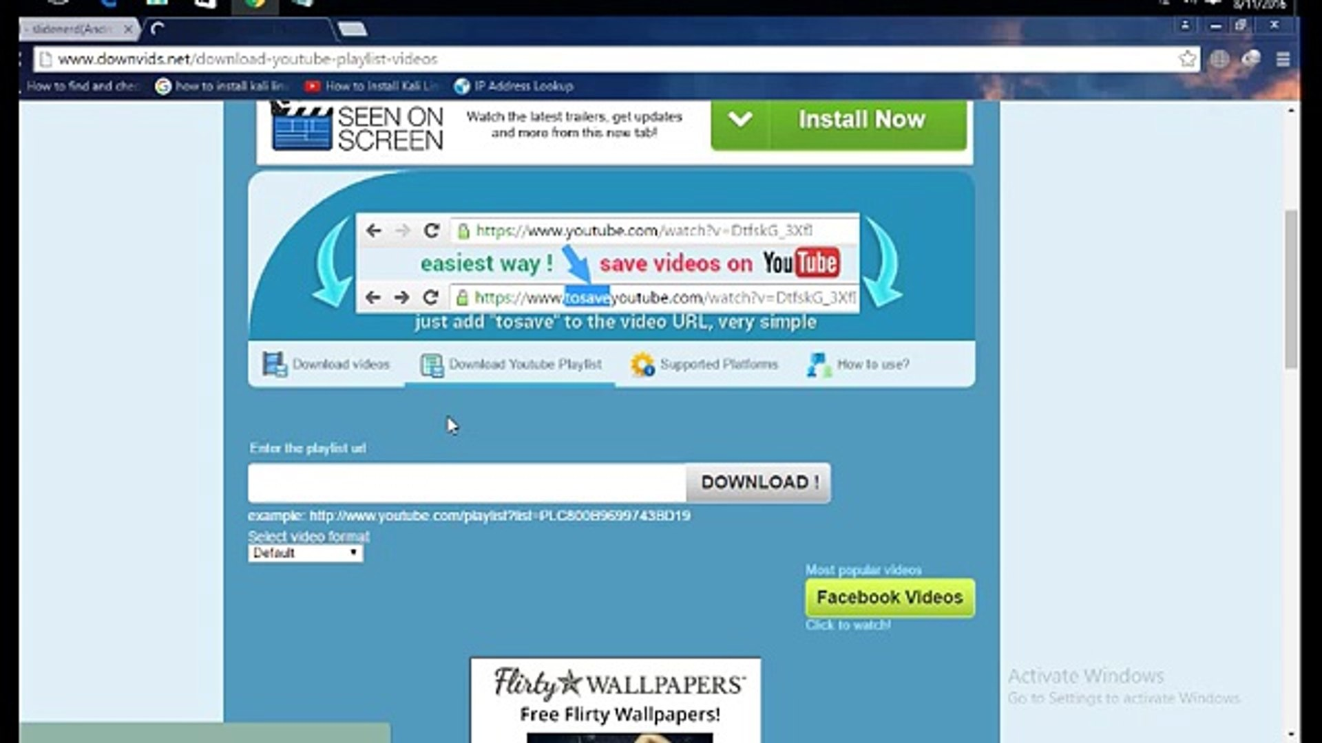 How to download Youtube playlist using Internet Download Manager (IDM) -