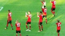 14/08/16 : OGCN-SRFC : les Rennais saluent leurs supporters
