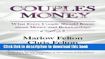 [Popular Books] Couples Money: What Every Couple Should Know about Money and Relationships