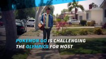 Pokémon Go challenges Rio Games for popularity