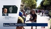 Manifestation ce dimanche à Bastia suite à l'agression à Sisco