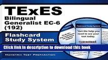 [Popular Books] TExES Bilingual Generalist EC-6 (192) Flashcard Study System: TExES Test Practice