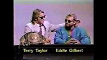 Nikita Koloff/Terry Taylor TV title Build Up