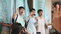 Un tribunal sentencia a trabajos comunitarios al líder de las protestas de Hong Kong