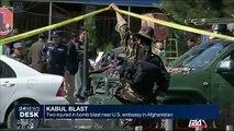 Kabul blast : two injured in bomb blast near U.S. embassy in Afghanistan