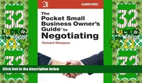 Big Deals  The Pocket Small Business Owner s Guide to Negotiating (Pocket Small Business Owner s