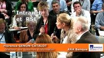 17ème Rencontre - Témoignage d'Axa Banque RSE & Intranet, Florence Genon-Catalot