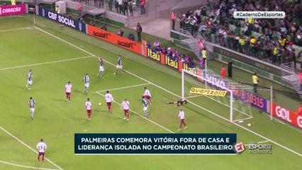 """Após """"nuvem negra"""", Palmeiras comemora liderança do Brasileirão"""