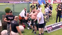 DEADLIFT WORLD RECORD EDDIE HALL 463 KG 1020 POUNDS