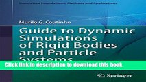 [PDF Kindle] Guide to Dynamic Simulations of Rigid Bodies and Particle Systems (Simulation