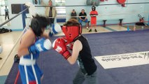 Dayvi leblanc 11 ans boxe educative a  calais