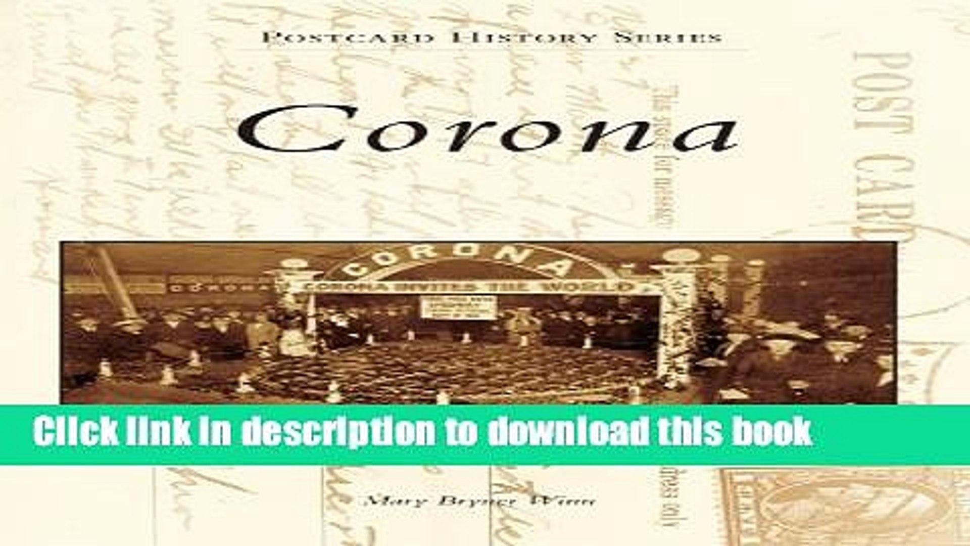 [Download] Corona Kindle Free