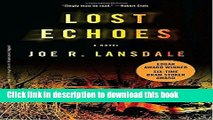 [Popular Books] Lost Echoes Free Online