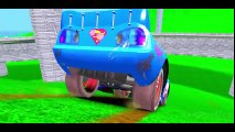 The Amazing Spider-Man with Flash McQueen Cars & Hulk with his Cars Superman Lightning McQueen!