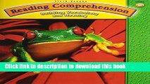 [Download] Steck-Vaughn Reading Comprehension: Student Workbook Grade 2 (Level B) Kindle Online