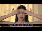 Ejercicios faciales para mujeres | Ojos Hinchados | Puffy Eyes