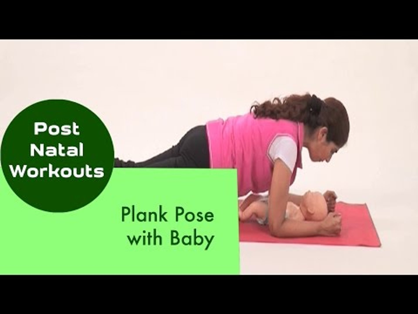 Plank Pose with Baby | Sonali Shivlani | Post Natal Workouts