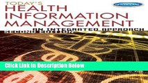 Books Today s Health Information Management: An Integrated Approach Free Online