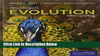 Books Strickberger s Evolution Full Download