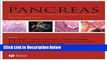 Ebook The Pancreas: An Integrated Textbook of Basic Science, Medicine, and Surgery (Beger, The